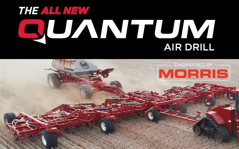 Morris Unleash The New Quantum Air Drill